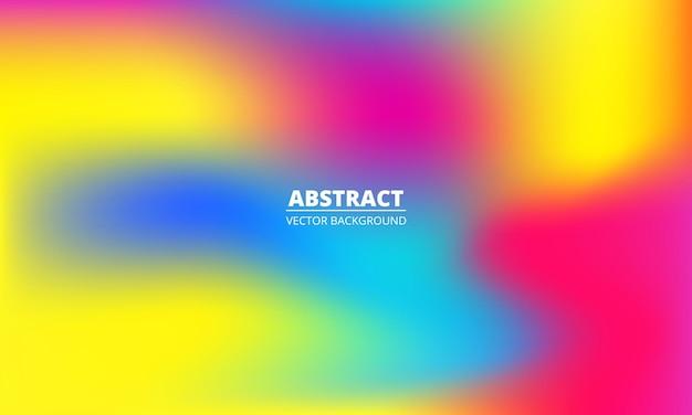 Абстрактная жидкость красочная радуга градиентный фон яркие разноцветные голографические текстуры