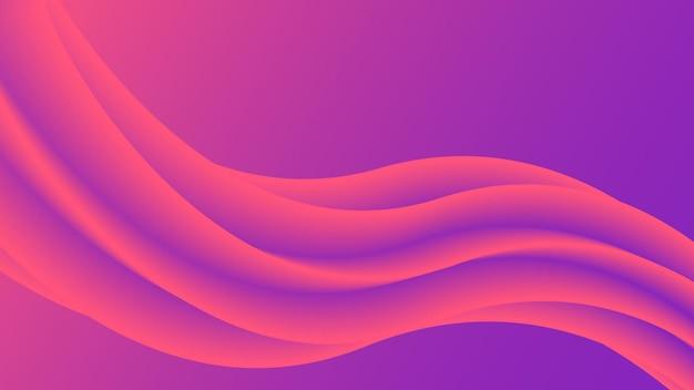 Абстрактный фон линии потока жидкости