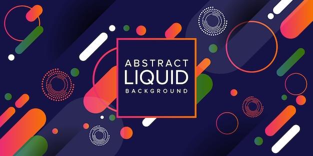 Abstract liquid fluid background