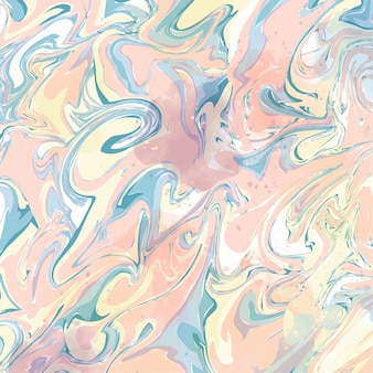 Abstract liquid pink marble effect background