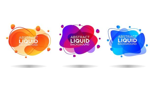 Abstract liquid templates