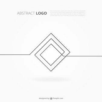 Abstract logo background