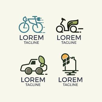 抽象的なロゴのテンプレート集