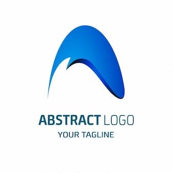 Lettera un logo icona elementi del modello di progettazione