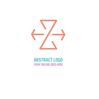 Abstract logo with the letter z