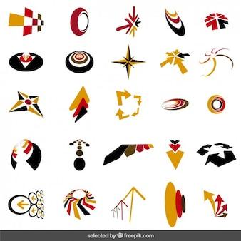 Abstract logos collection