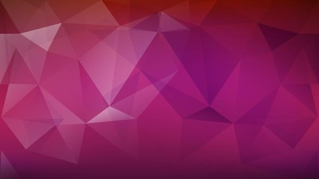 Абстрактный низкий поли цветной фон из треугольников