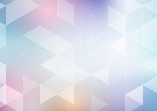 Abstract low poly design background