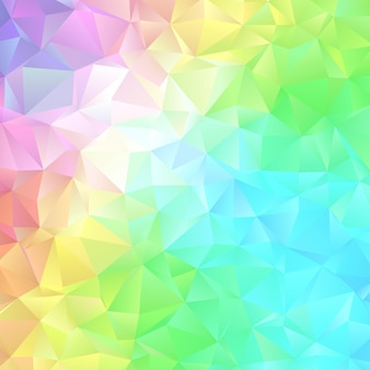 Abstract low poly design