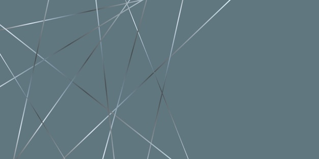 Abstract low poly elegant design