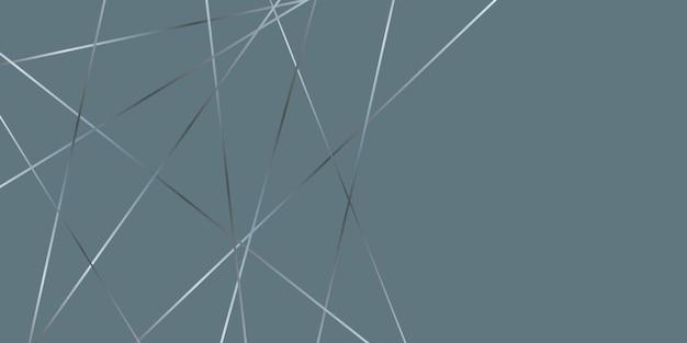 Design elegante astratto basso poli