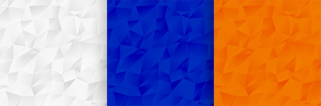 Абстрактная низкая поли шаблон текстуры набор дизайн