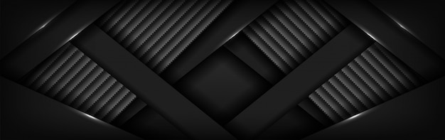 Abstract luxurious dark carbon background with overlap layer