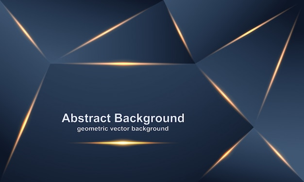 Abstract, luxurious, modern, polygonal vector background.