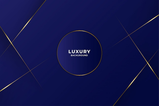 Abstract luxury background with shining gold line