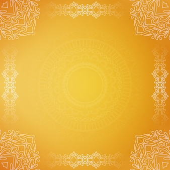 Abstract luxury beautiful decorative yellow background