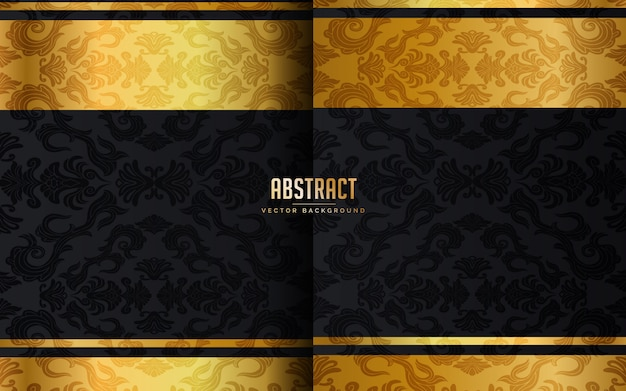 Abstract luxury black background
