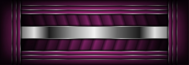 Abstract luxury dark background with silver lines combinations
