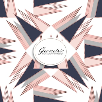 Abstract luxury geometric pattern. fashion background