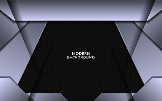Abstract luxury geometric shape background banner design