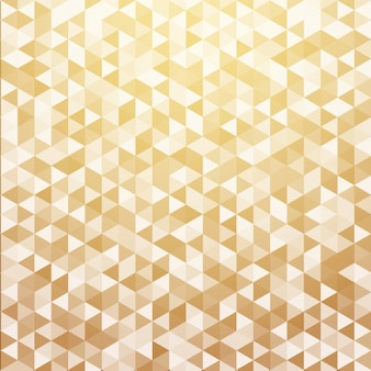 Abstract luxury gold color geometric triangle pattern background