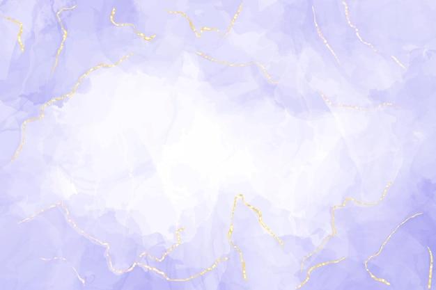 抽象的な豪華なラベンダー液体水彩画の背景