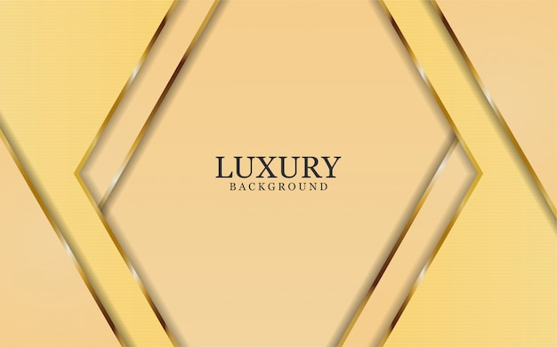Abstract luxury rose with golden lines in  abstract style background