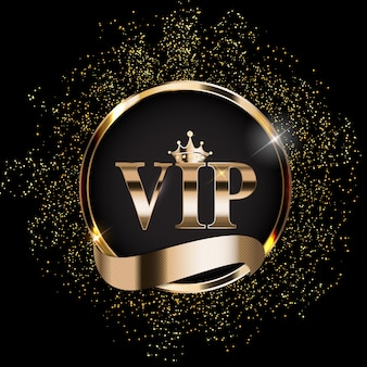 Abstract luxury vip members background