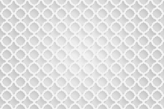 추상 럭셔리 흰색 기하학적 패턴