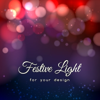 Abstract magic bokeh background. effect blurred light, energy space,
