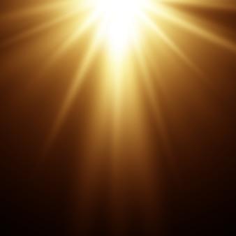 추상 매직 골드 빛 배경