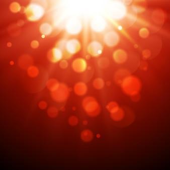 추상 마법의 빛 배경