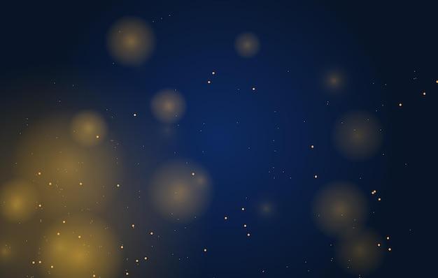 Абстрактный волшебный боке световой эффект фон