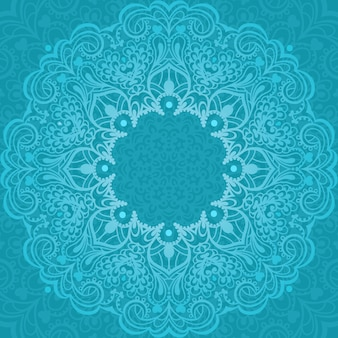 Abstract mandala. element for design