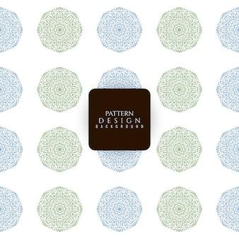 Abstract mandala seamless pattern background