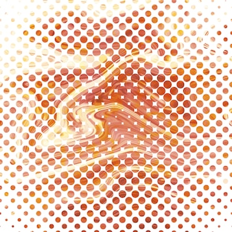 Abstract marble halftone texture background