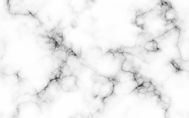 Abstract marble pattern texture black and white background
