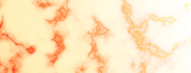 Abstract marble texture banner in warm colors