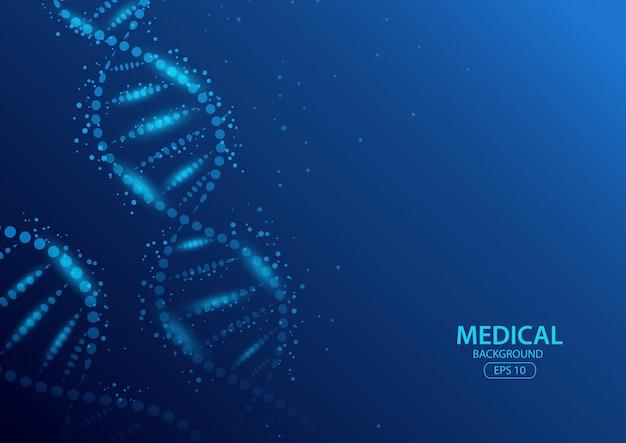 Абстрактное понятие медицинского фона. иллюстрация