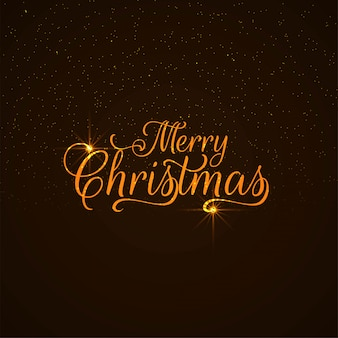 Abstract Merry Christmas text design background