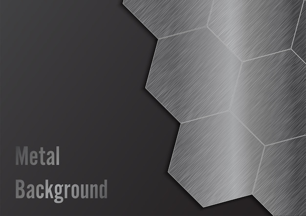 Abstract metal background. illustrator vector.