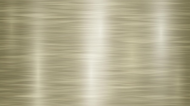 Abstract metal background with glares in golden and yellow colors