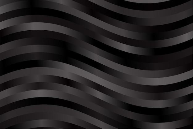 抽象的な金属鋼効果の背景の壁紙。黒い色の縞模様のベクトル