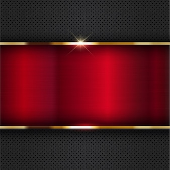 Abstract Metallic background