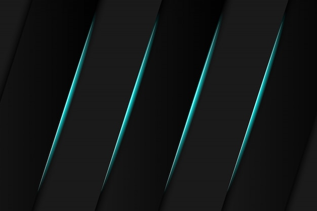 Abstract metallic blue black frame layout modern tech design template background