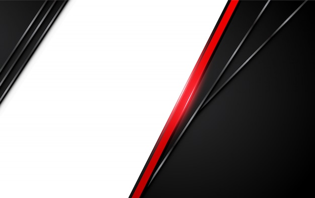 Abstract metallic red black background with contrast stripes.