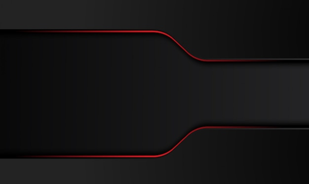 Abstract metallic red black design tech innovation concept background