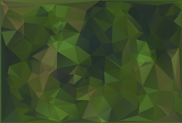 Abstract military camouflage background made of geometric triangles shapes