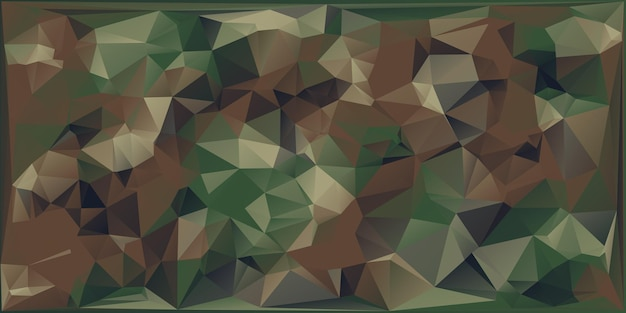 기하학적 인 삼각형 shapes.polygonal 스타일의 추상 군사 위장 배경입니다.