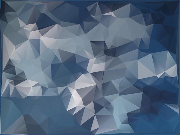 기하학적 인 삼각형 모양의 추상 군사 위장 배경